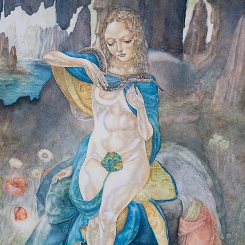 宮西計三『岩窟のマドンナ』