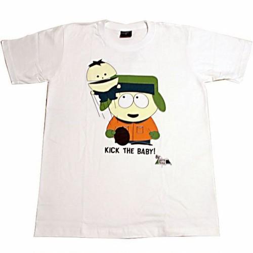 サウスパーク South Park カイル・ブロフロフスキー Kyle Broflovski プリントTシャツ