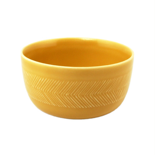 BIRDS' WORDS Tabletop Bowl 11cm yellow