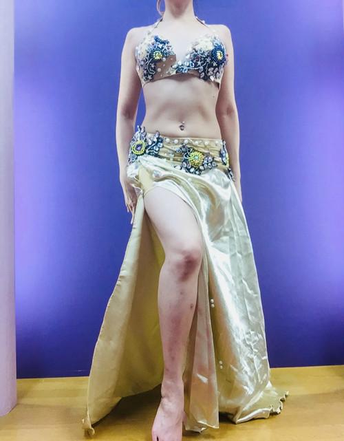 ベリーダンス衣装 コスチューム ゴールド
