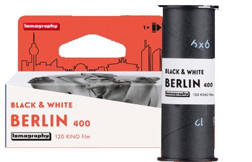【 120 モノクロネガ 】Lomography( ロモグラフィー )Berlin Kino B&W  ISO400 2019