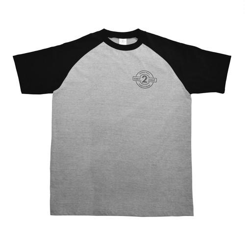 """SUPER SALE""   Raglan Sleeves T-SHIRTS/ BLACK size XL"