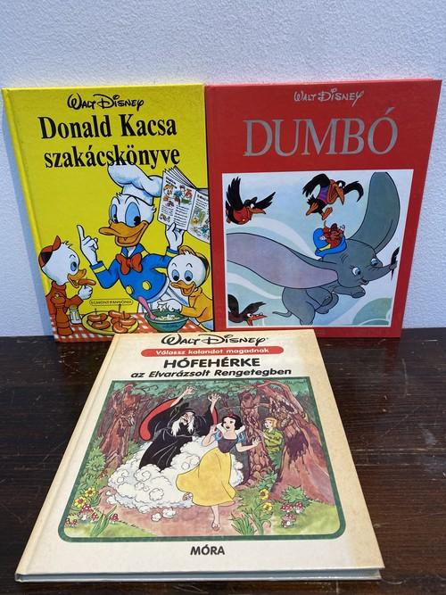 Walt Disney ドイツ語版3冊 ドナルド ダンボ 白雪姫