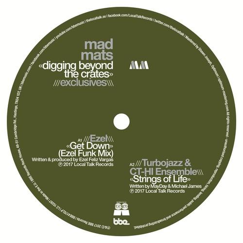"""【残りわずか/12""""】V.A. - Mad Mats Presents Digging Beyond The Crates"""