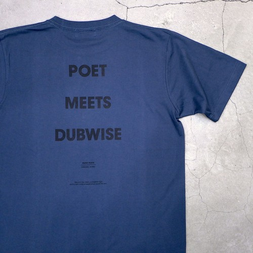 【NEW COLOR】SILENT POETS / T-SHIRTS(POETS MEETS DUBWISE)