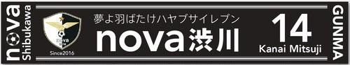 nova渋川 応援マフラータオルD