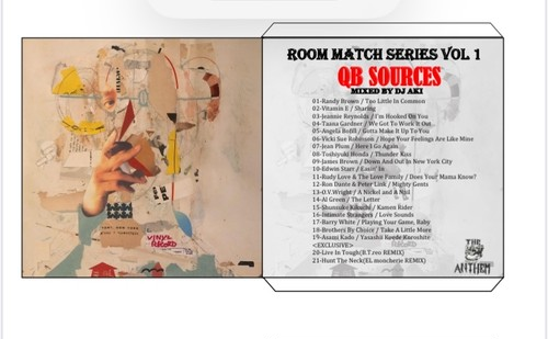 Room Match Series Vol 1 「QB SOURCES」 MIXED BY  DJ AKI *特典つき (送料込み)