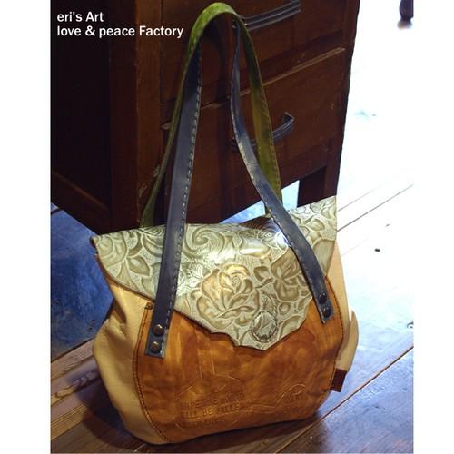 革 ハンドバッグ Bag-074