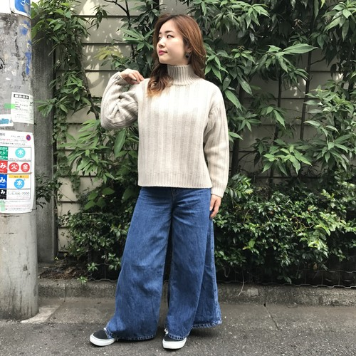 Bunt  3G GREAT GRANDFATHER SWEATER 17AW-KN03