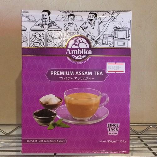 CTC アッサムティー プレミアム Premium Tea CTC Assam ชาอินเดีย 500g