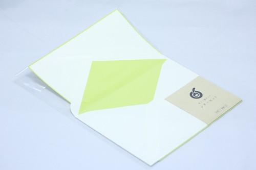 レターセット(黄緑)