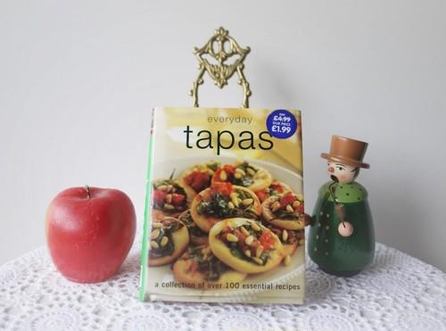 洋書 料理本 タパスの本 Everyday Tapas
