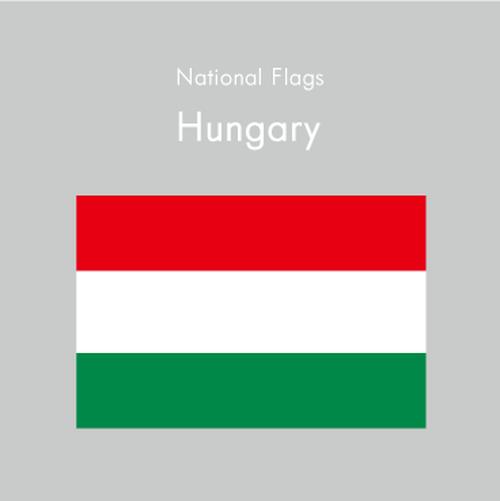 国旗ステッカー ハンガリー