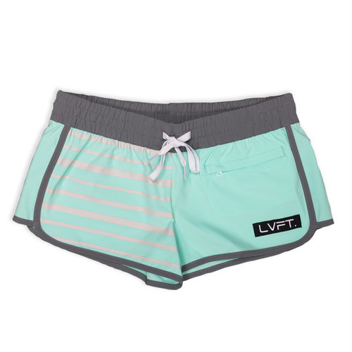 LIVE FIT Pipeline Women's Boardshorts/Running Shorts WS301