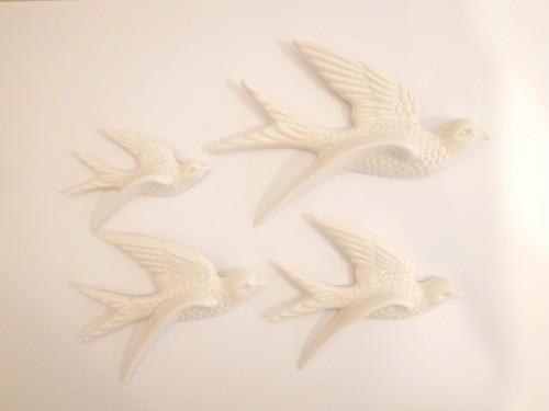 Flying Birds ホワイト
