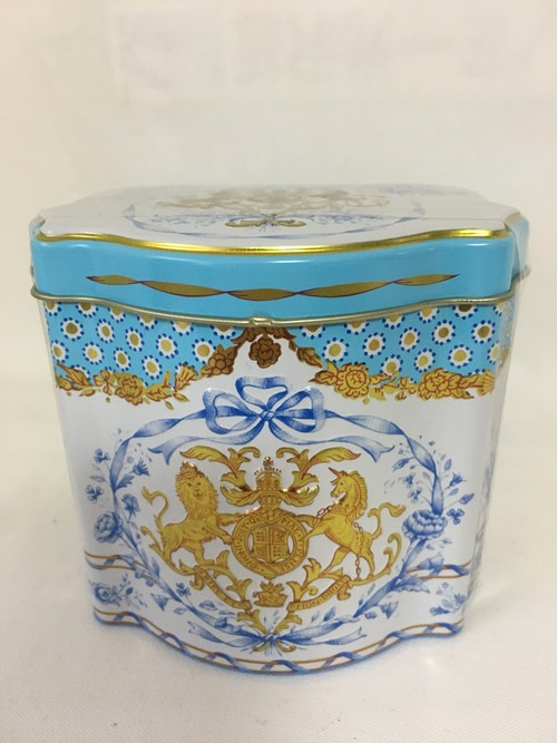"""限定紅茶缶 """"バッキンガムパレス エリザベス女王90才お誕生日記念"""" Tea caddy☆"""