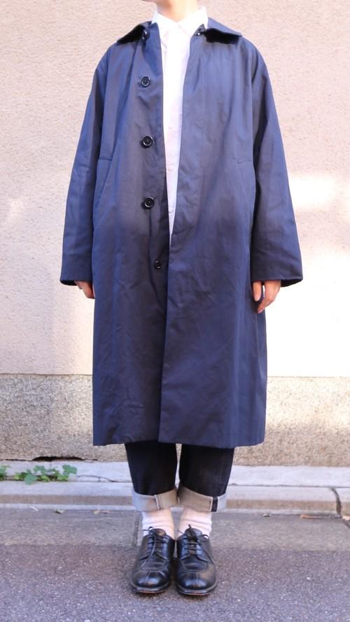 YAECA/ヤエカ ステンカラーコート スタンダード NAVY #69552