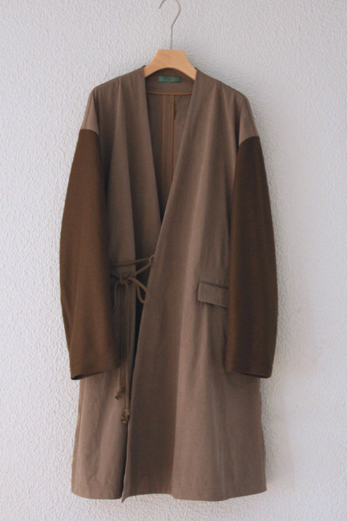 brown spring coat / ohta