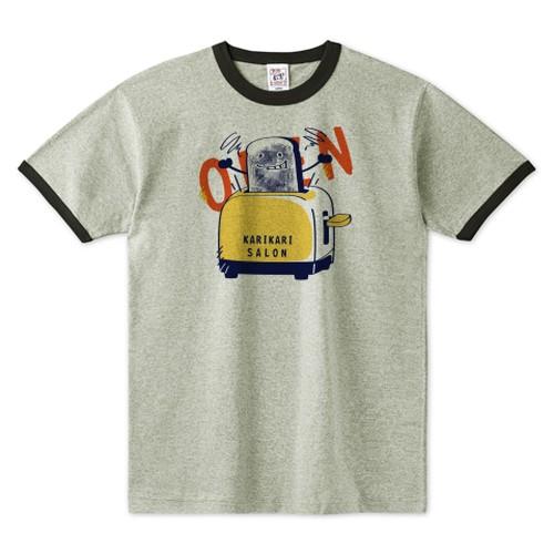 CT144 カリカリサロン*E / リンガーTシャツ(TRUSS)