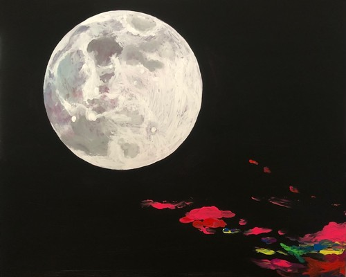 "※Please let us know if you wish to restock             Akiko KASAI ""Flower Moon"""