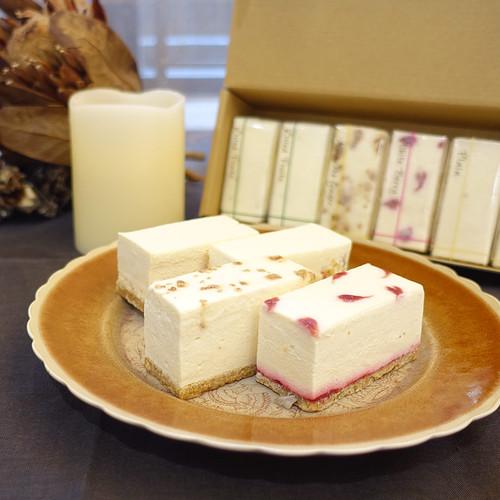 【6個入】白砂糖不使用チーズケーキお試し4種アソートBOX  冬