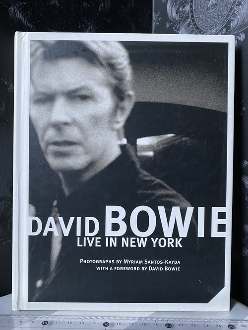 DAVID BOWIE    LIVE IN NEW YORK