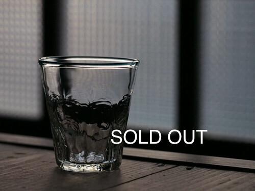 【売切】吹きガラス 村上恭一 8角タンブラー