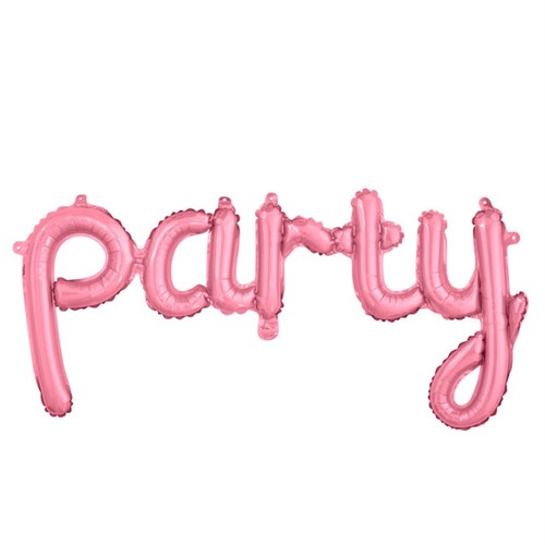 partyバルーン(ピンク)