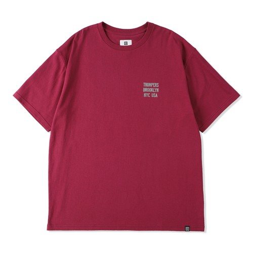 LEATHER PATCH LOGO TEE / THUMPERS