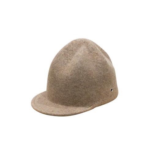 CRUMPLED CAP/mix beige