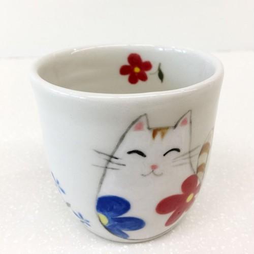 手づくり陶芸 フリーカップ Pottery Cup, handmade,hand-painted