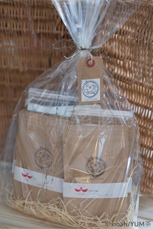 お茶のギフト用ラッピング【 袋とじ 】