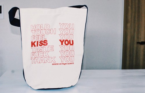 【Unisex】MNKM Thank You Tote Bag