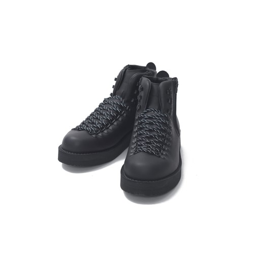 WM × DANNER LEATHER BOOTS [Mountain Light]-MAD BLACK