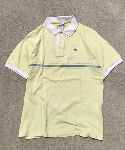 French LACOSTE POLO (UT-839)