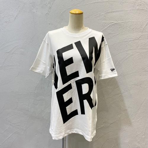 NEW ERA/ズームアップロゴTシャツ