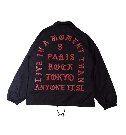 """""""LIVE IN A MOMENT"""" COACH JACKET"""