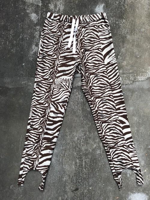 blackweirdos / zebra jacky pants
