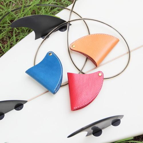 オイルシュリンクレザーフィンコインケース Oil shrink leather fin coin purse
