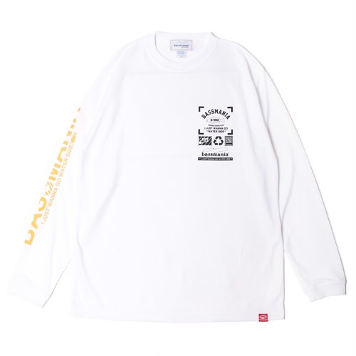 Neo graphic dry UV  L/S Tee [WHT]