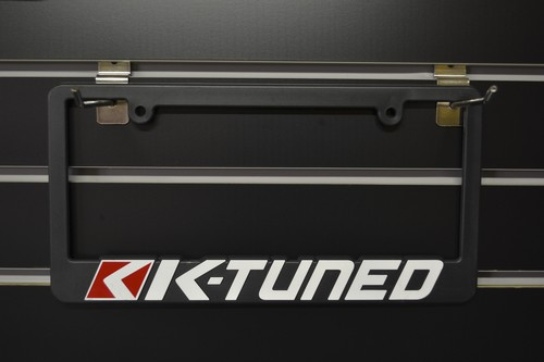 K-Tuned Licence plate frames