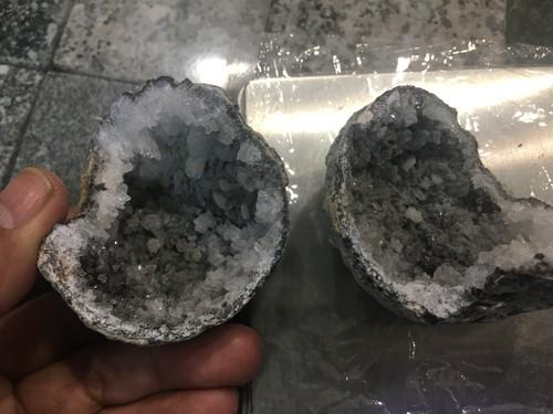 マネーボックス ジオード水晶