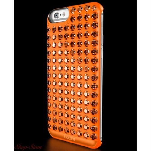 LUCIEN(ルシアン) iPhone6/6S/SE case SPECTRUM <Orange・オレンジ>