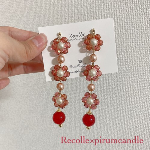Recolle×pirumcandle (flower petit jewel)