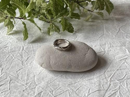【aika jewelry】Unique organic ring