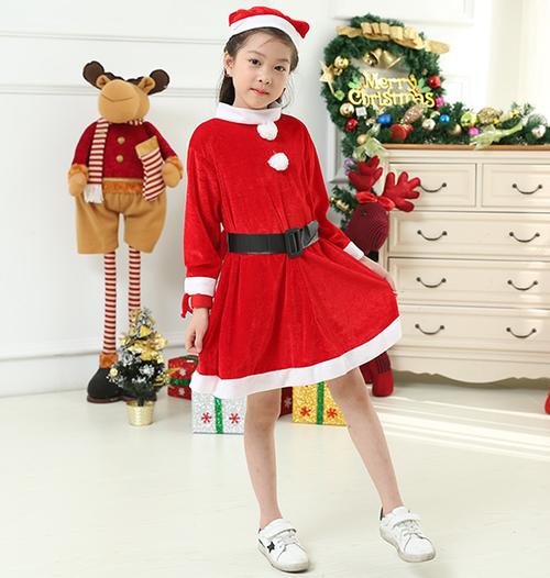 コスプレ 子供用 クリスマス 衣装 サンタ