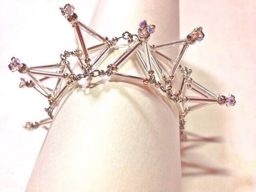 Three-dimensional Toge BRACELET [Silver]