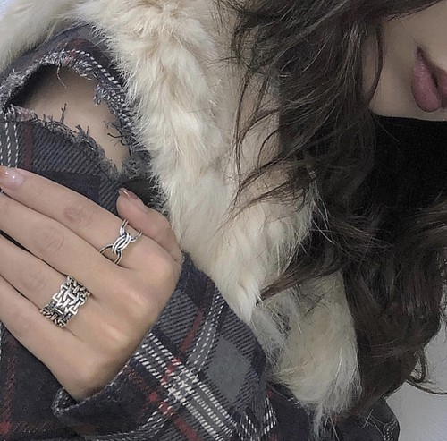 rope ring ➕three chain ringセット