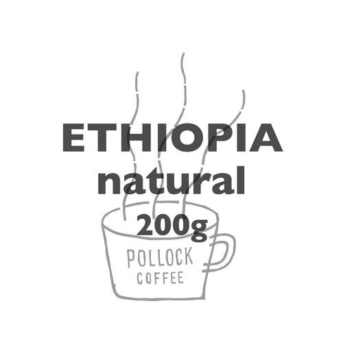 エチオピア シティロースト 200g イルガチェフェ シフェラウ・バントラ ナチュラル