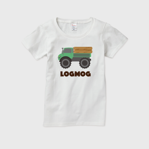LOGMOGレディースTシャツ(送料無料)